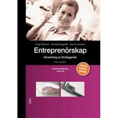 Entreprenörskap Lärarhandledning med cd - utveckling av företagande (Övrigt format, 2014)