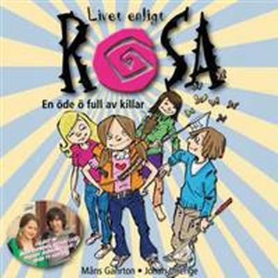 Livet enligt Rosa: En öde ö full av killar (Ljudbok nedladdning, 2008)