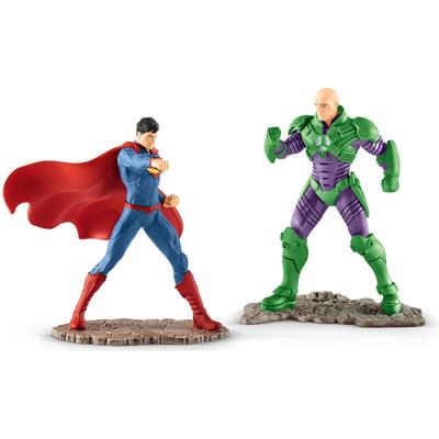 Schleich Superman vs Lex Luthor Scenery Pack 22541