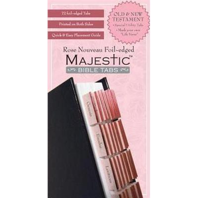 Majestic Rose Nouveau Foil-Edged Bible Tabs (Övrigt format, 2008)