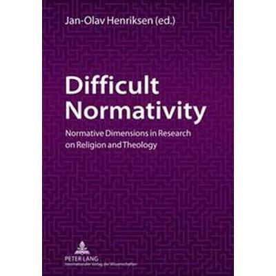 Difficult Normativity (Pocket, 2011)