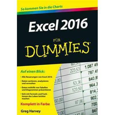 Excel 2016 Fur Dummies (Häftad, 2015)