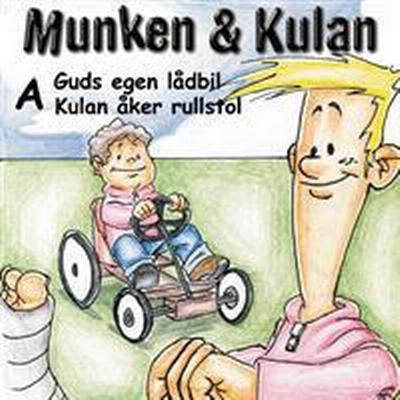 Munken & Kulan A, Guds egen lådbil ; Kulan åker rullstol (Ljudbok CD, 2001)