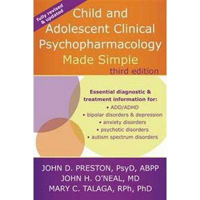 Child and Adolescent Clinical Psychopharmacology Made Simple (Pocket, 2015)