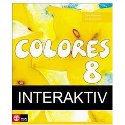 Colores 8 Textbok Interaktiv 12mån (Övrigt format, 2014)