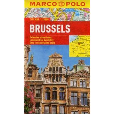 Brussels Marco Polo City Map (Pocket, 2012)