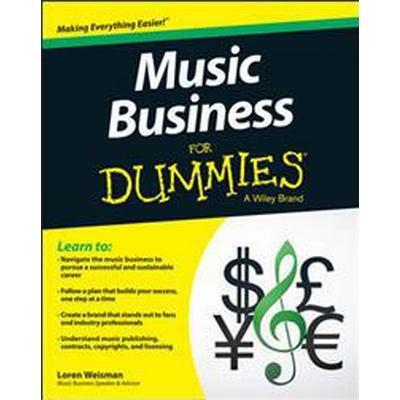 Music Business for Dummies (Häftad, 2015)