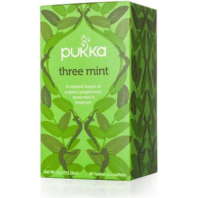 Pukka Three Mint20 Tepåsar