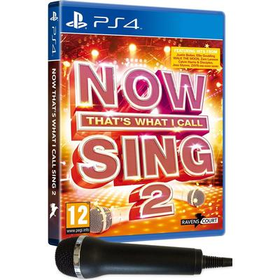 Now That's What I Call Sing 2 (Incl Microphone)