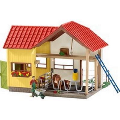 Schleich Barn with Animals & Accessories 42334