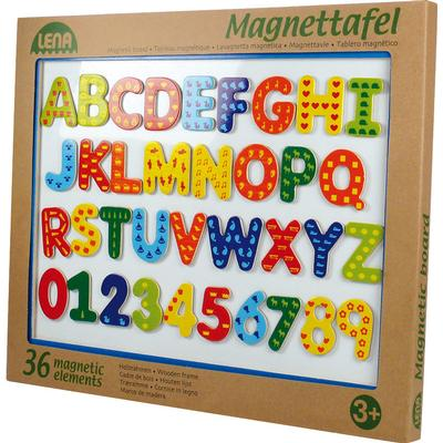 Lena Magnetic Memo Board with Wooden Frame