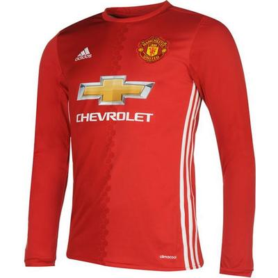 Adidas Manchester United LS Home Jersey 16/17 Sr