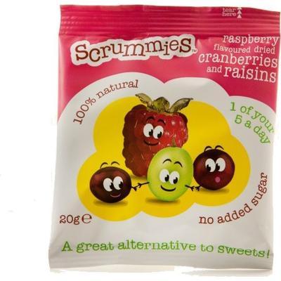 Scand Choco Tydligt Scrumptious Raspberry Scrummies 20g