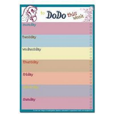 Dodo Weekly to Do Do Reminder List Planner Pad (Övrigt format, 2014)