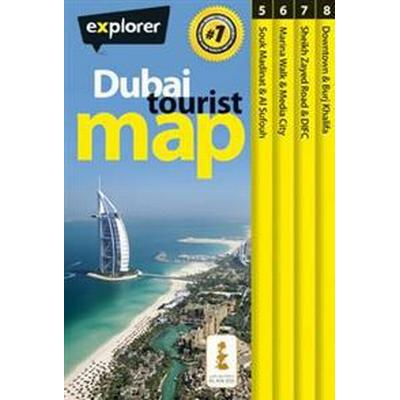 Dubai Tourist Map (Häftad, 2013)
