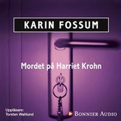 Mordet på Harriet Krohn (Ljudbok nedladdning, 2014)