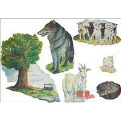Vargen och de sju killingarna flano (Övrigt format, 2008)