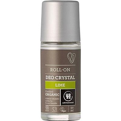 Urtekram Lime Deo Crystal Organic Deo Roll-on 50ml