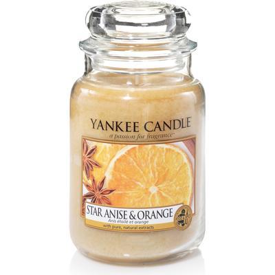 Yankee Candle Star Anise & Orange 623g Doftljus