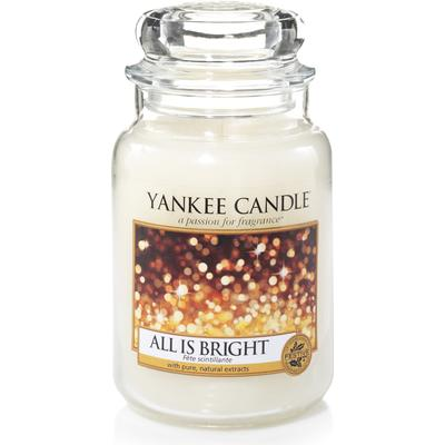 Yankee Candle All Is Bright 623g Jar Doftljus