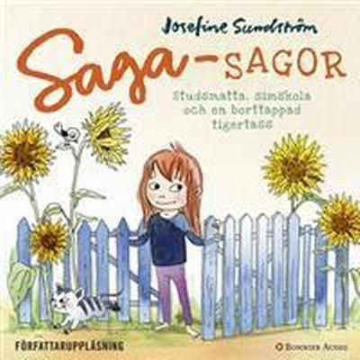 Sagasagor: Studsmatta, simskola och en borttappad tigertass (Ljudbok nedladdning, 2016)