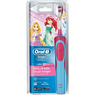 Oral-B Stages Power Kids Rechargeable Disney Princesses 3+