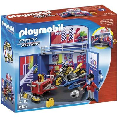 Playmobil My Secret Motorcycle Workshop Play Box 6157