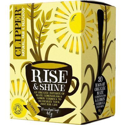 Clipper Organic Rise & Shine 20 Tepåsar