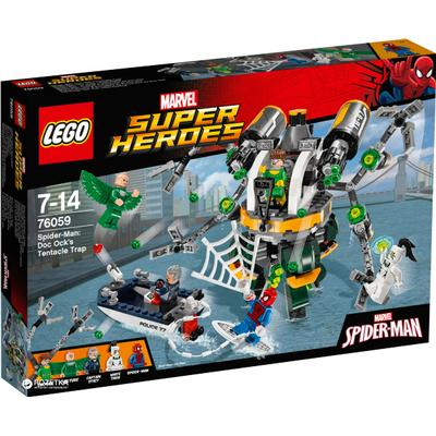 Lego Marvels Super Heroes Spider-Man Doc Ocks Trap 76059