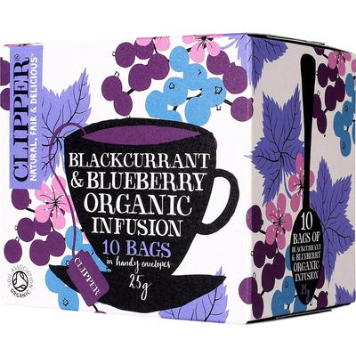Clipper Organic Blackcurrant and Blueberry Infusion 10 Tepåsar