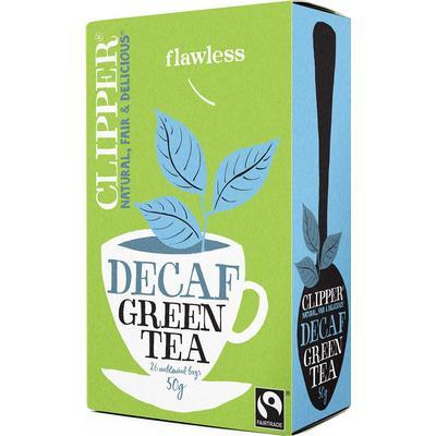 Clipper Decaf Green Tea 26 Tepåsar