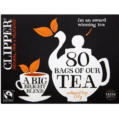 Clipper Fairtrade Everyday Tea 80 Tepåsar