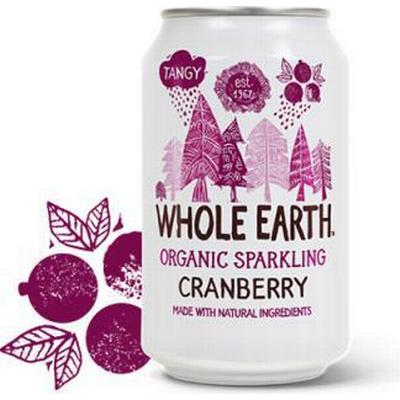 Whole Earth Organic Sparkling Cranberry Dryck