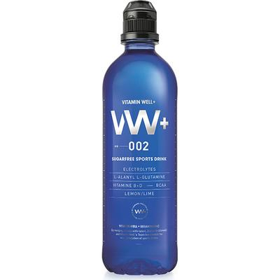 Vitamin Well VW+ 002 Sports Drink Suger Free Lemon/Lime 500ml
