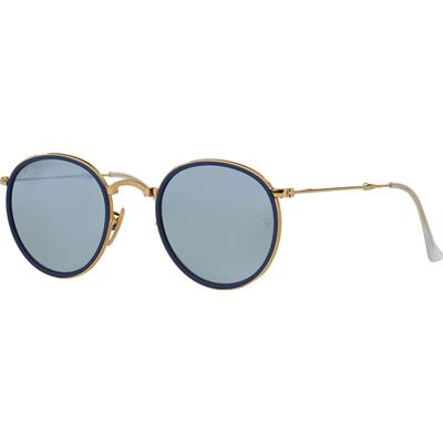 Ray-Ban Round Folding Flash Lenses RB3517 001/30