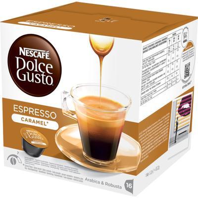 Nescafé Dolce Gusto Espresso Caramel 16 Te Kapslar