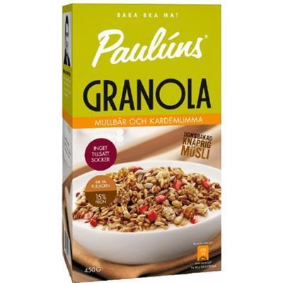 Paulúns Granola Mullbär & Kardemumma