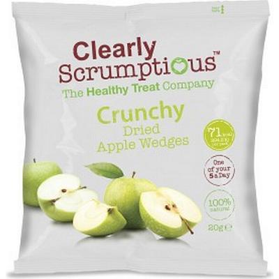 Scand Choco Tydligt Scrumptious Krispigt Torkad Apple Kilar