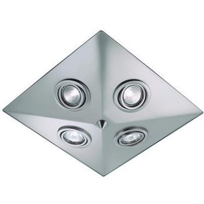 Markslöjd Pyramid Steel Taklampa