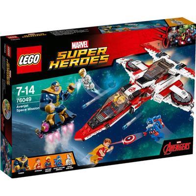 Lego Marvel Super Heroes Avenjet Space Mission 76049