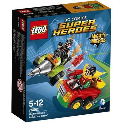 Lego DC Comics Super Heroes Mighty Micros Robin vs Bane 76062