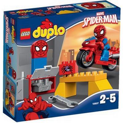 Lego Duplo Spider Man Web Bike Workshop 10607