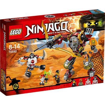 Lego Ninjago Salvage M E C 70592