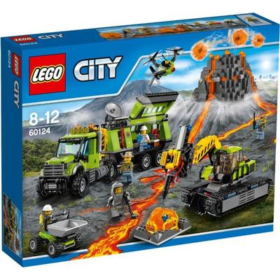 Lego City Volcano Exploration Base 60124