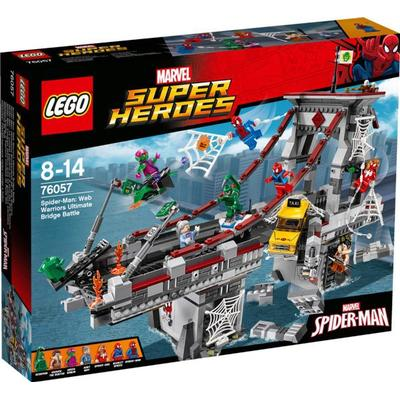 Lego Super Heroes Spiderman Web Warriors Ultimate Bridge Battle 76057