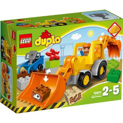 Lego Duplo Backhoe Loader 10811