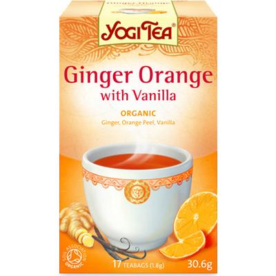 Yogi Tea Ginger Orange with Vanilla 17 Tepåsar