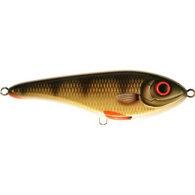 Strike Pro Buster Jerk Shallow Runner 15cm Golden Perch