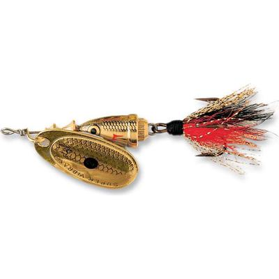 Blue Fox Vibrax Foxtail 4 Golden Shiner GSDX