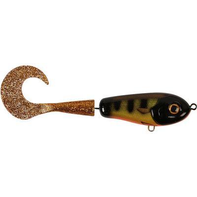 Strike Pro Wolf Tail shallow 23cm Black Okoboji Perch - Gold